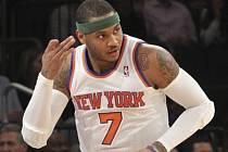 Hvězda NY Knicks Carmelo Anthony.