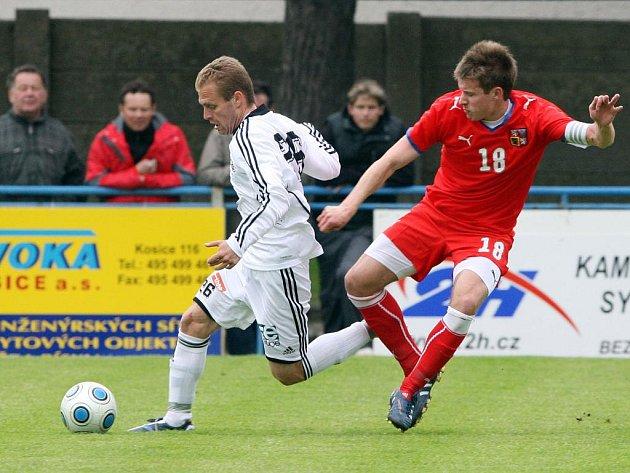 Fotbalista Lukáš Mareček (vpravo) před lety reprezentoval i ve výběru do jednadvaceti let.