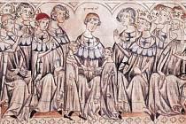 Svatba Jana Lucemburského a Elišky Přemyslovny ve Špýru
