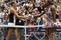Karolína Plíšková a Venus Williamsová