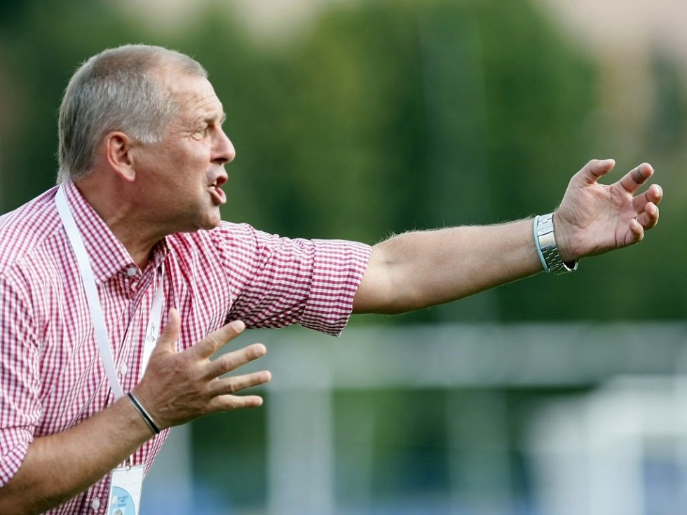 Jihlavský trenér Petr Rada prohrál první zápas nové sezony.