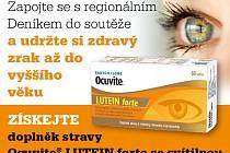 Zapojte se s regionálním Deníkem do soutěže a udržte si zdravý zrak až do vyššího věku.