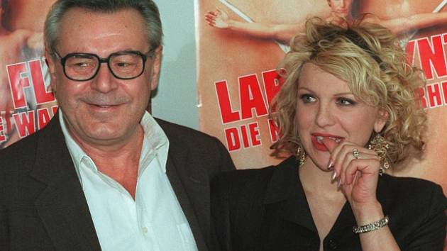 Miloš Forman s Courtney Love