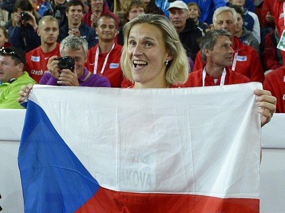 Barbora Špotáková po triumfu v Curychu