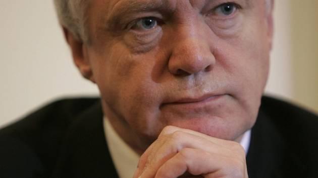 Ministr pro otázky brexitu David Davis.