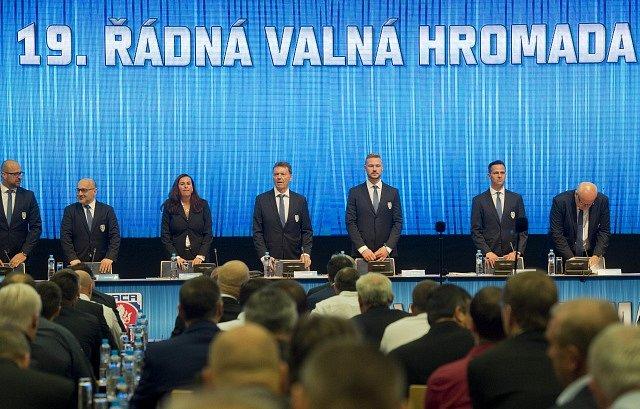 19. řádná valná hromada Fotbalové asociace ČR, volby
