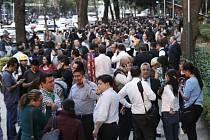 Po pátečním zemětřesení v Mexiku