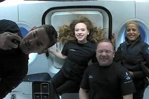 Posádka vesmírné mise Inspiration4