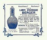 reklama na lampy Berger z roku 1925