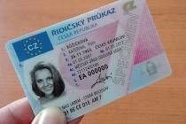 Řidičský průkaz z roku 2007