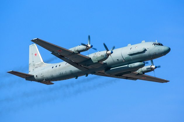 Výsledek obrázku pro Il-20 sestřelení
