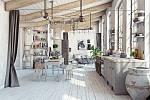 Nábytek by měl mít odřené rohy, rozpraskané kraje, opotřebovaný kov, odloupaný lak nebo neošetřené dřevo.