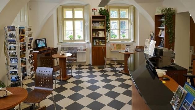 Turistické informační centrum - interiér