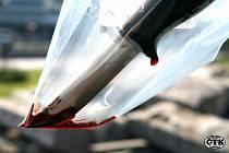 Nůž. Bodná zbraň. Pobodání nožem. Krev. Násilí. Ilustrační foto