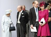 Na svatbě nechyběla královna ani princ William a vévodkyně Kate