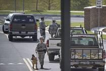 Americká základna Andrews po hodině odvolala poplach