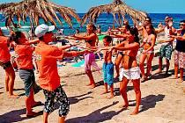 Tanec na pláži
