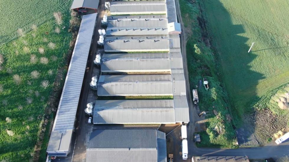 Ovčí farma na jihu Francie, sloužící pro výrobu Roquefortu