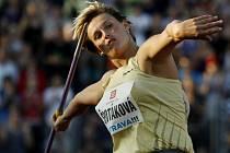 Oštěpařka Barbora Špotáková na Zlaté tretře
