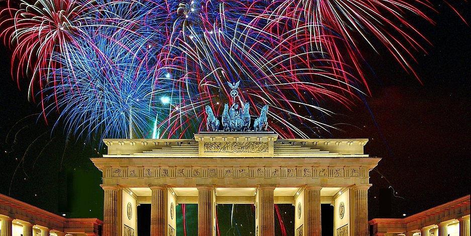 Novoroční oslavy v Berlíně