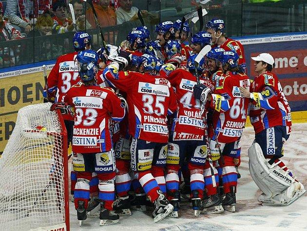 Pardubice si připsaly zasloužený skalp, vyhrály na Slavii.