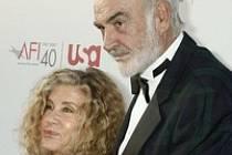 Sean Connery na předávání ceny pro Al Pacina