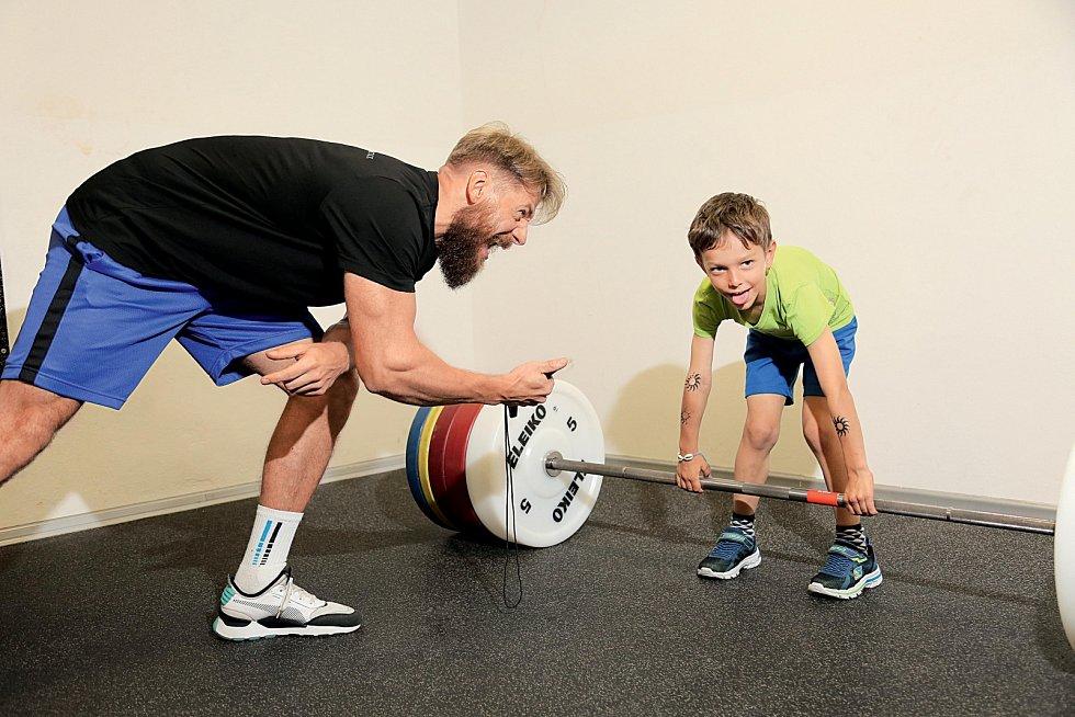 Malý sportovec.