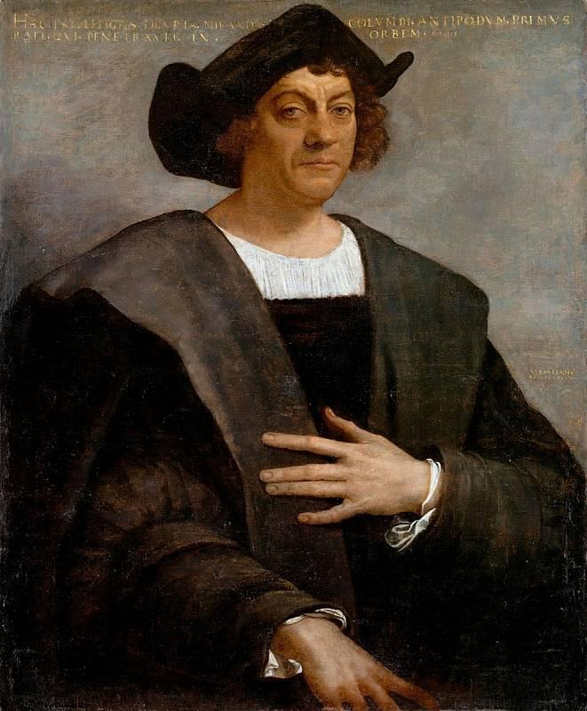 Kryštof Kolumbus, jeden z nejslavnějších mořeplavců na světě.