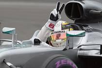 Lewis Hamilton ovládl kvalifikaci na Velkou cenu Kanady.