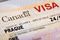 Kanadské vízum. Ilustrační foto