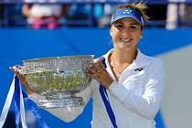 Belinda Bencicová triumfovala na turnaji v Eastbourne.