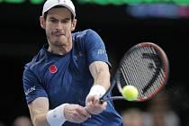 Andy Murray na Masters v Paříži.