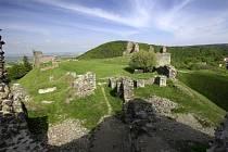 Východočeský hrad Lichnice.