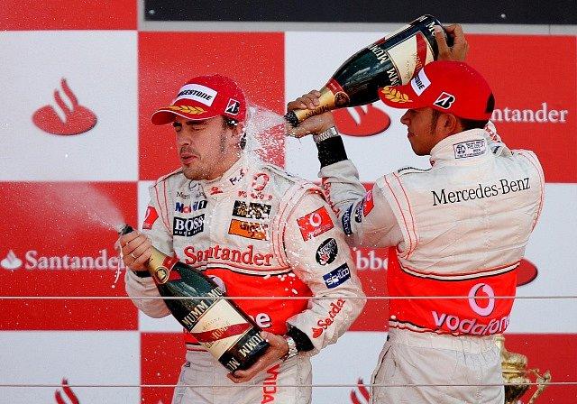 Fernando Alonso jako pilot McLarenu