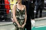 Hostem byla i slovenská modelka Andrea Verešová s manželem.