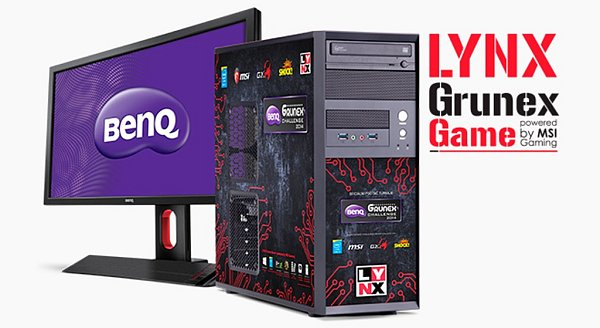 Turnaj vpočítačových hrách BenQ Grunex Challenge 2014.