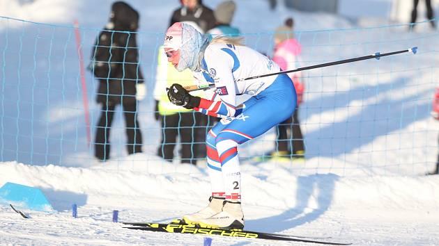 MSJ v běžeckém lyžování v Lahti  - Barbora Havlíčková