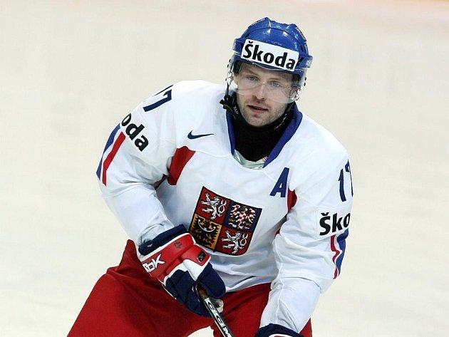 Jaroslav Hlinka na mistrovství světa v roce 2007.
