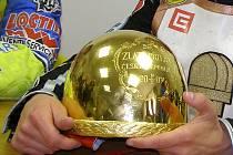 Zlatá přilba je mezi plochodrážníky ceněnou trofejí.