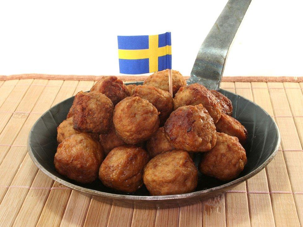 Švédské masové kuličky