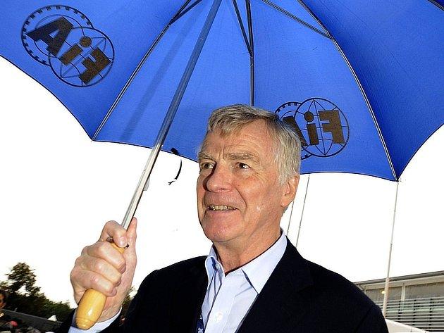 Šéf Mezinárodní automobilové federace Max Mosley.