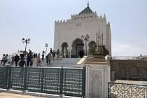 V Rabatu najdete překrásnou budovu mauzolea Muhammada V., v níž jsou uloženy ostatky předchozích panovníků.