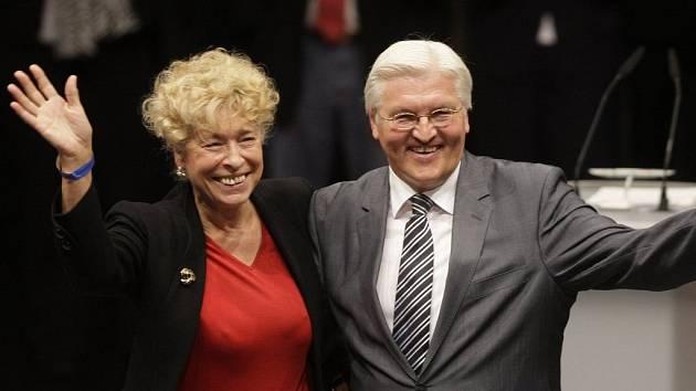 Německo možná bude mít historicky první prezidentku. Vážnou kandidátkou na úřad je sociální demokratka Gesine Schwan.