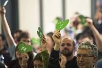Strana zelených si na víkendovém sjezdu zvolila členy nového předsednictva.