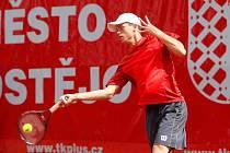 Adam Pavlásek na Czech Open v Prostějově.