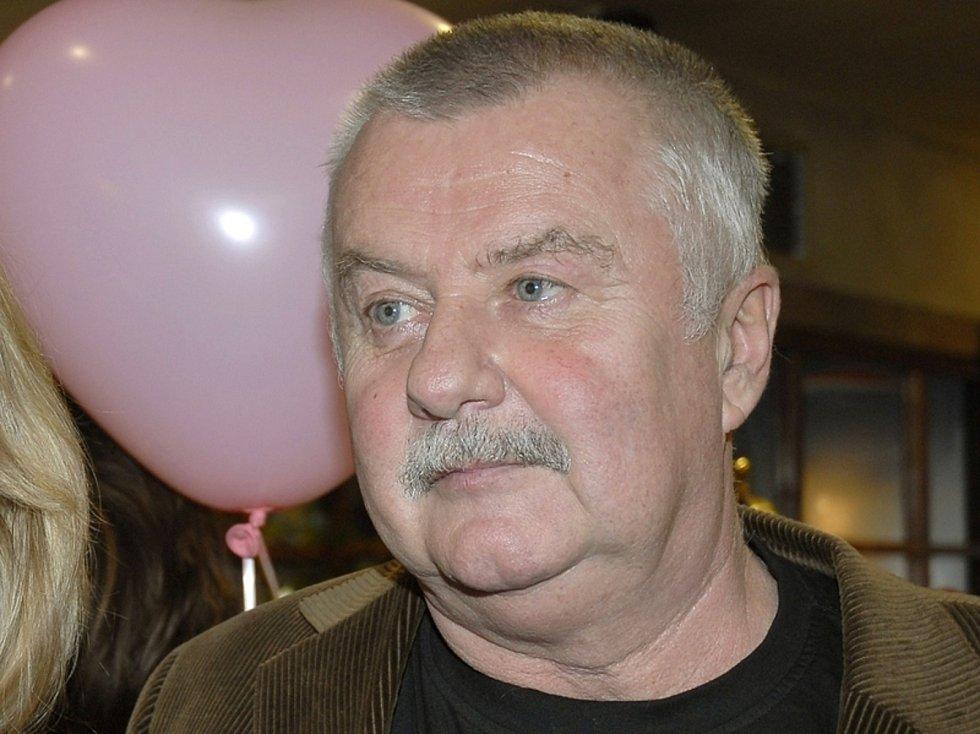 Ve věku 75 let zemřel herec Ladislav Potměšil (na snímku ze 14. února 2007).