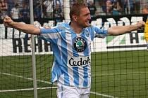 Luboš Pecka se blýskl dvěma góly do sítě Liberce.