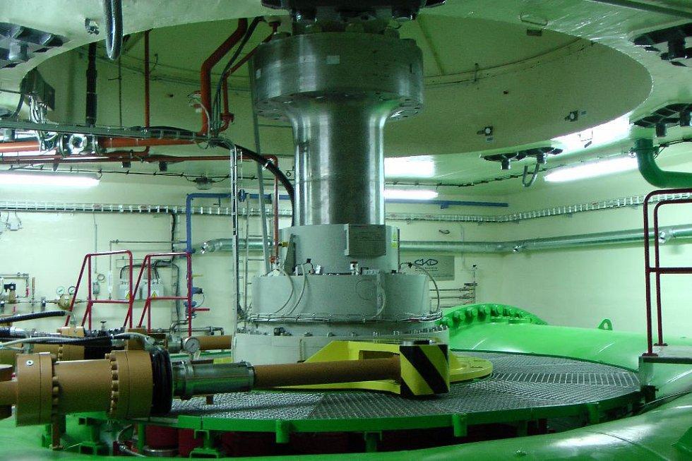 Modernizované soustrojí TG2 vodní elektrárny Lipno I (2015)