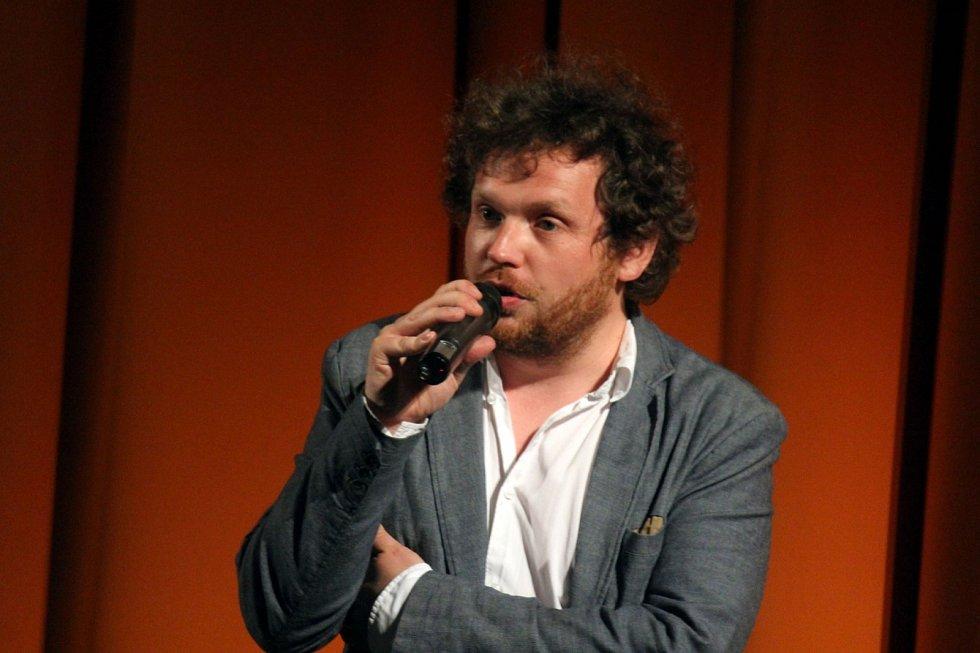 Vít Klusák na předpremiéře k filmu Svět podle Daliborka v prostějovském kině