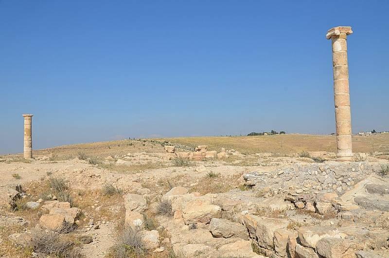 Macheront v Jordánsku. Právě zde se zřejmě nacházel sál, v němž Salome tančila Herodovi